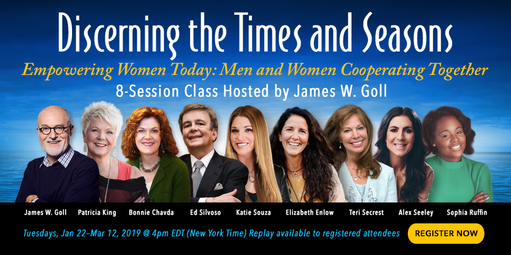Discerning the Times and Seasons: Empowering Women Today - Join Now